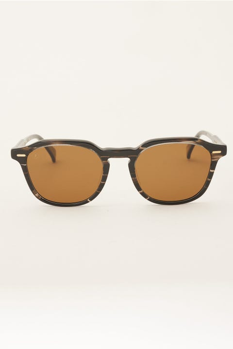 Raen Clyve Polarized Licorice/Vibrant Brown