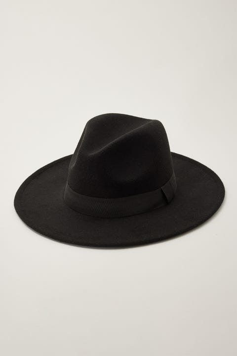 Token California Felt Hat Black