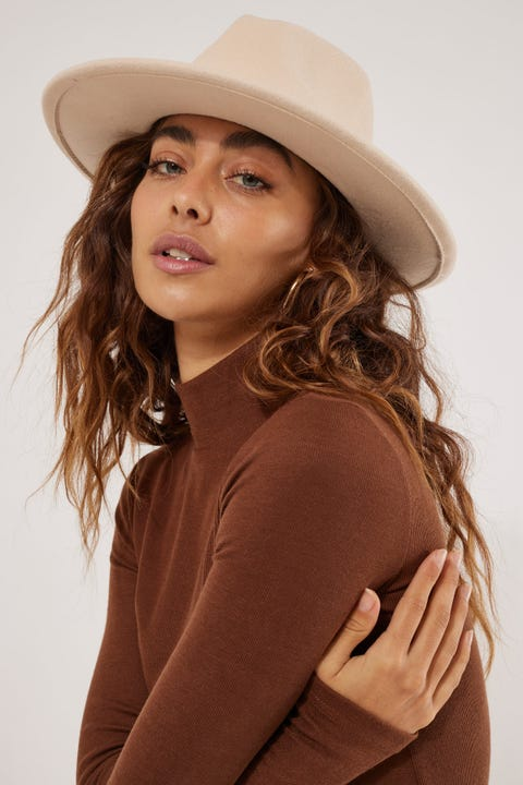 Token California Felt Hat Cream