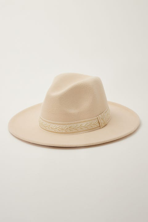 Token California Felt Hat Cream