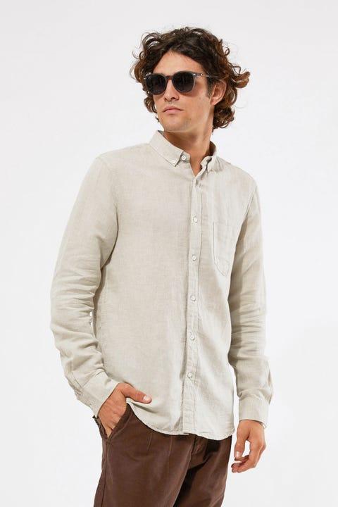 Academy Brand Rockaway LS Shirt Light Olive