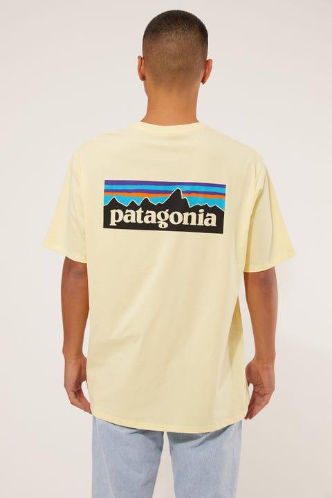 Patagonia M's P6 Logo Tee Resin Yellow