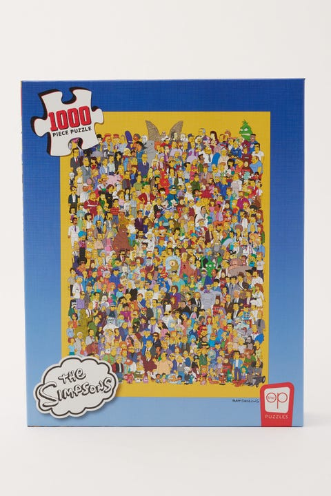 The Simpsons Casting Call Puzzle
