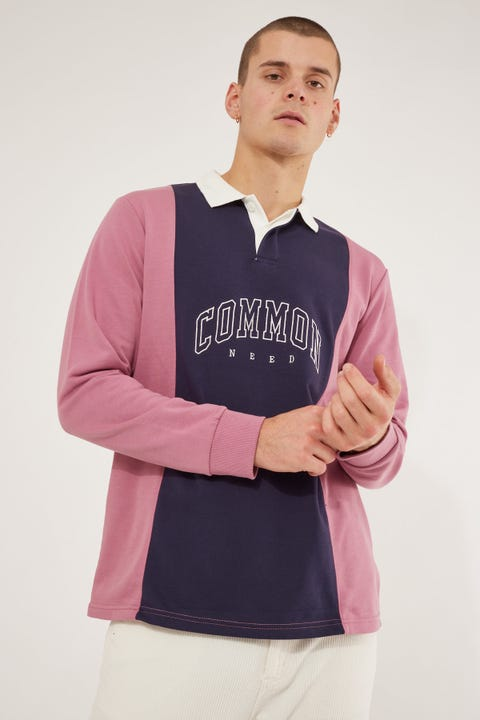Common Need Recognize Warrior Rugby Navy/Washed Orchid