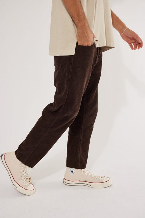 Common Need Dexter Cord Pant Brown