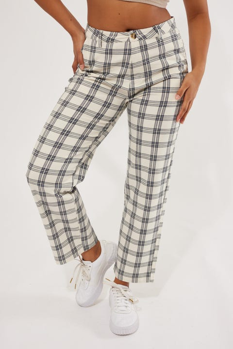 Brixton Victory Trouser Pant Off White
