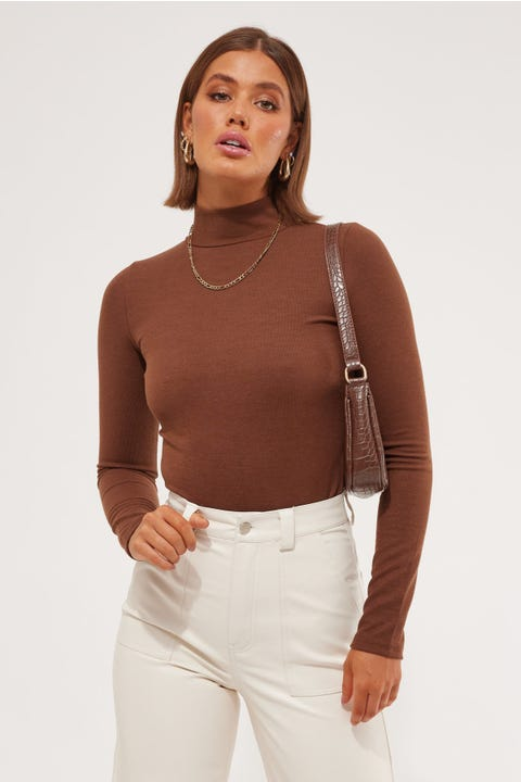 L&t Taia Top Chocolate