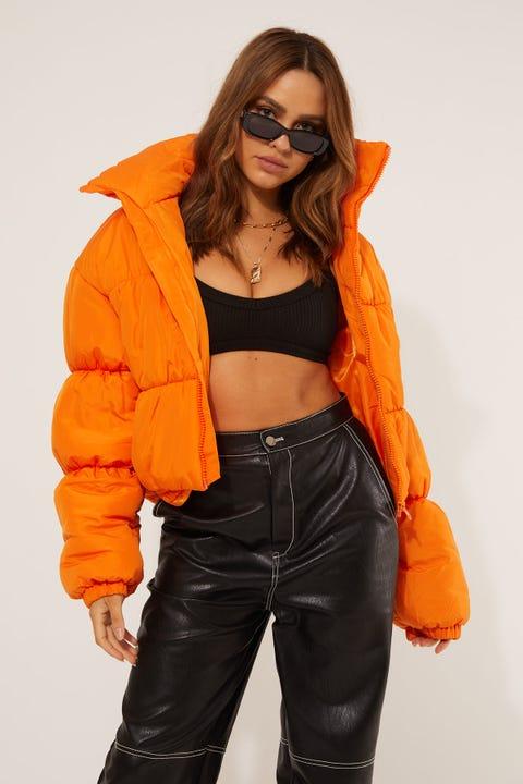 By.dyln Oxford Puffer Orange