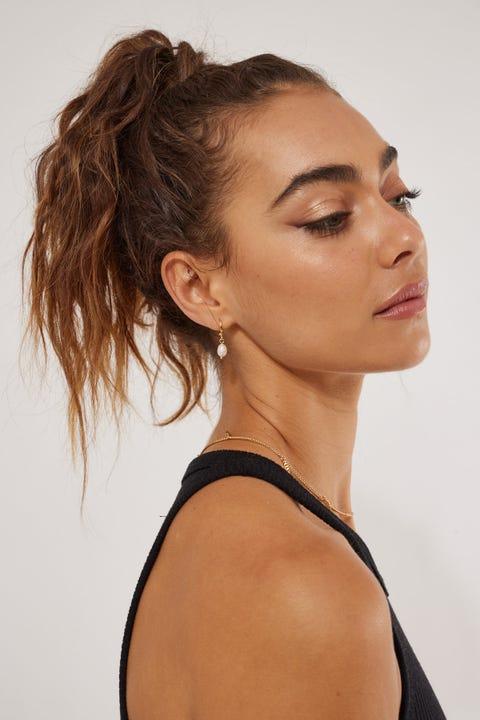 Perfect Stranger Zoe Earring 18K Gold Plated