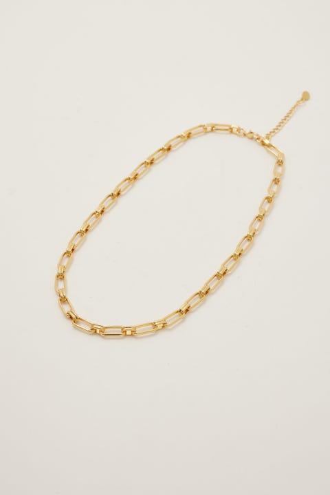 Perfect Stranger Coco Necklace 18K Gold Plated