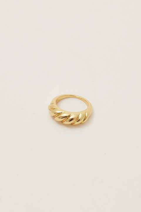 Perfect Stranger Kai Ring 18K Gold Plated