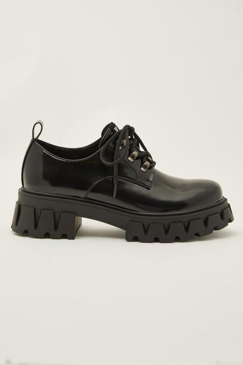 Koi Footwear Mensis Black Patent