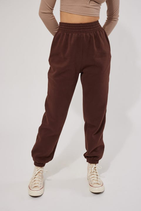 Perfect Stranger Relaxed Trackpant Brown