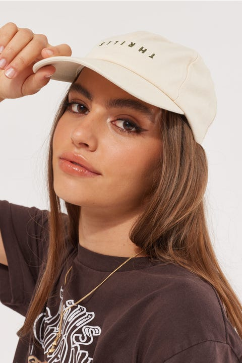 Thrills Minimal Cap Thrift White