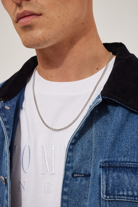 Common Need Cuban Chain Necklace Silver
