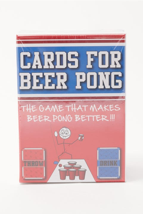 Party Games Co Cards For Beer Pong