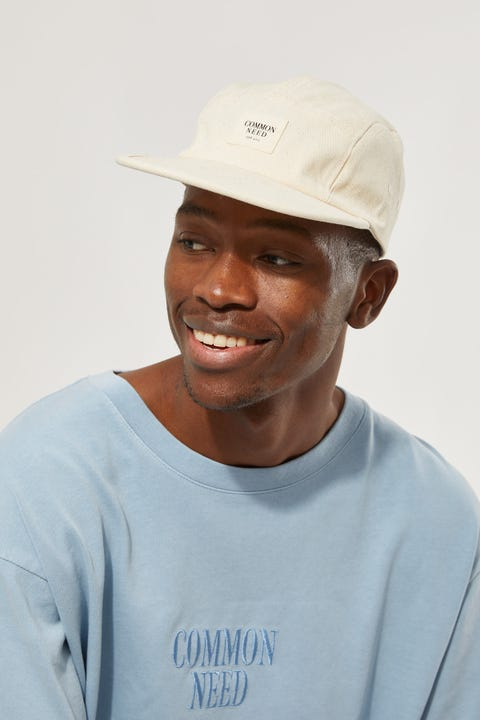 Common Need Canvas Camp Cap Unbleached