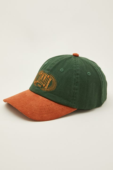 Common Need Creed Heritage Cap Forest Green/Brown