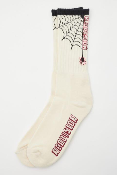 Neovision Spiderweb Sock White