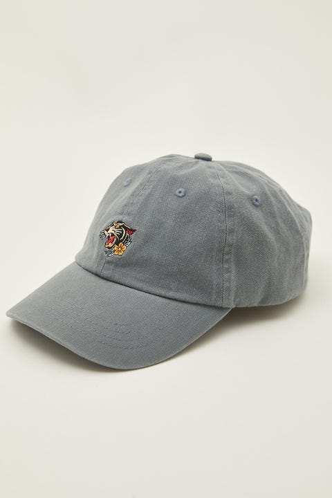 Common Need Panther Dad Cap Washed Navy