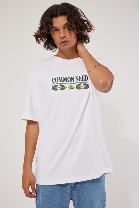 Common Need Mojito Boxy Tee White