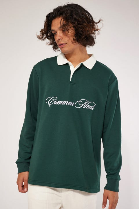 Common Need Script Rugby Forest Green