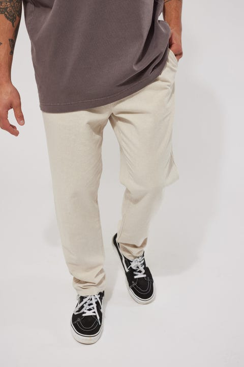 Common Need Oliver Pleat Pant Oat