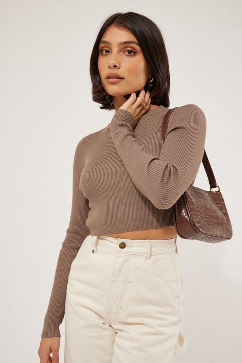 Perfect Stranger Kaila Knit Top Nude