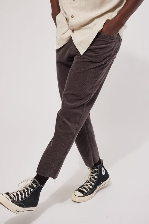 Common Need Dexter Cord Pant Charcoal