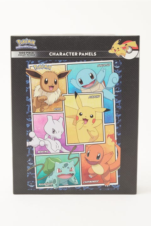 Pokemon Character Panels Puzzle