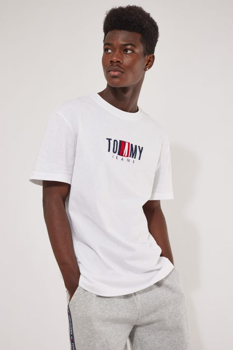 Tommy Jeans TJM Timeless Tommy Box Tee White