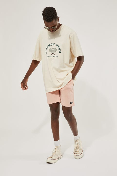 Common Need Essential Short 2.0 Washed Rose