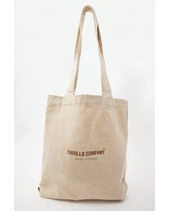 Thrills Hemp Naturally Tote Unbleached