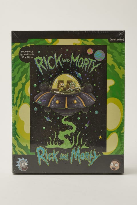 Vr Distribution Rick & Morty Ship 1000 Piece Puzzle NULL