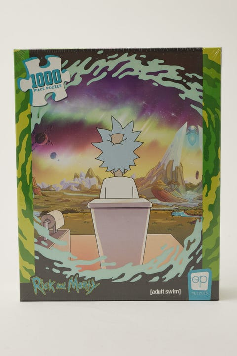 Vr Distribution Rick & Morty Shy Pooper 1000 Piece Puzzle NULL