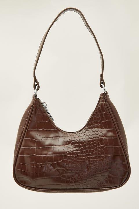 Token Make You Mine Shoulder Bag Brown