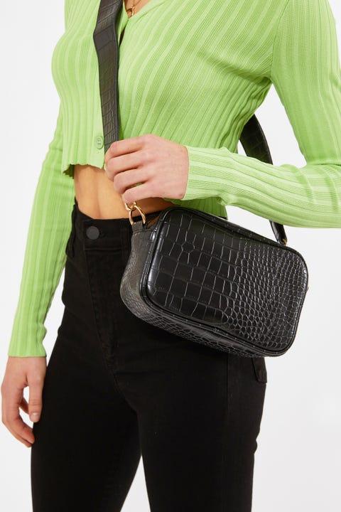 Token Emmy Crossbody Bag Black