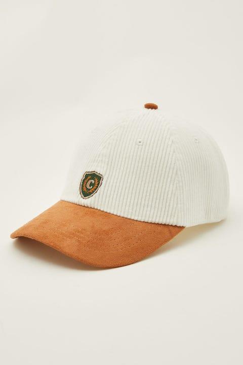 Common Need Crest Cap Ecru/Tan