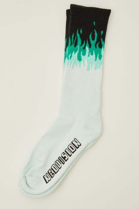 Neovision On Fire Sock Black
