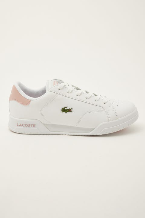 Lacoste Twin Serve 0721 1 SFA White Pink White Lt Pink