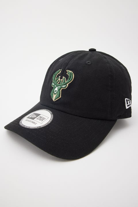 New Era Casual Classic Milwaukee Bucks Black