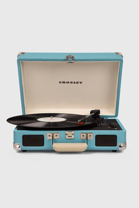 Crosley Cruiser Bluetooth Portable Turntable Turquoise