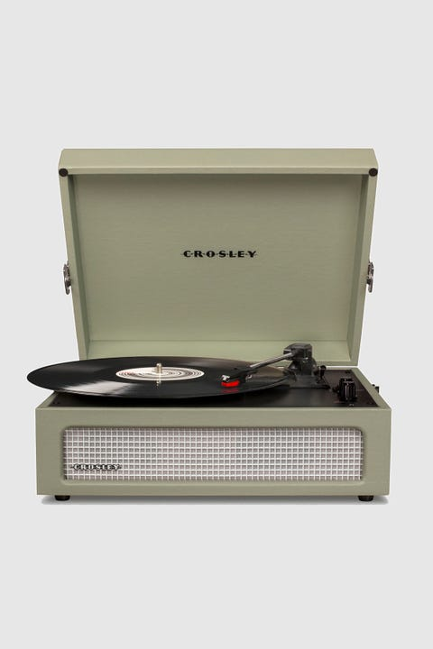Crosley Voyager Bluetooth Portable Turntable Sage