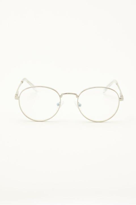 Le Specs Lost Legacy Blue Light Silver