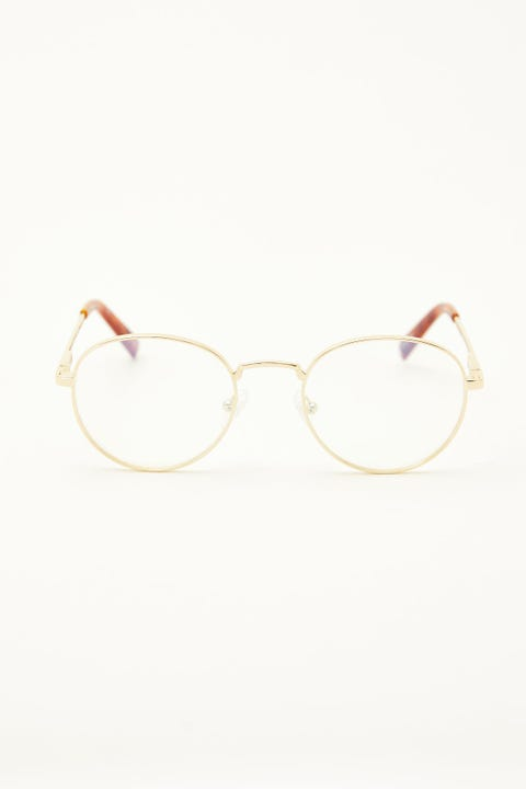 Le Specs Lost Legacy Blue Light Gold