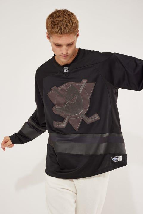 Majestic Athletic NHL Replica Ducks Jersey Standard Black