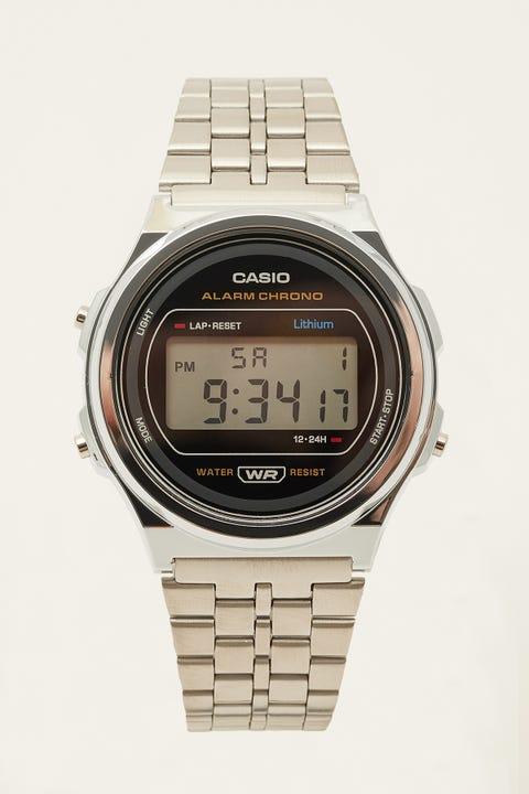Casio A171WE-1ADF Silver