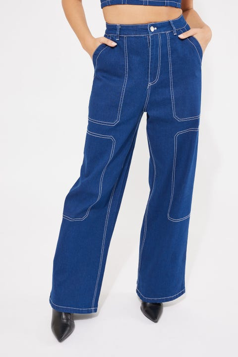 By.dyln Cooper Jeans Blue