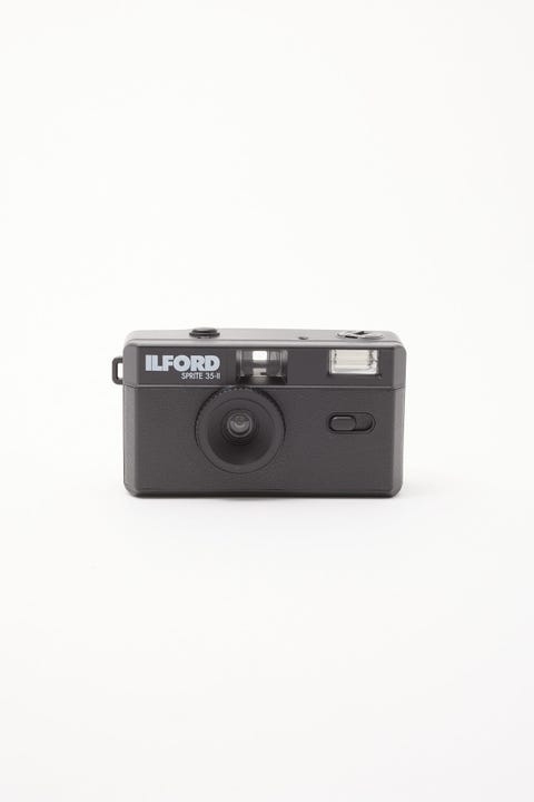 Ilford Sprite 35-II Reusable Camera Black