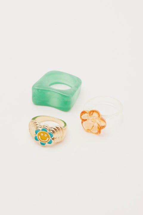 Token Summer Cool Ring Pack Multi